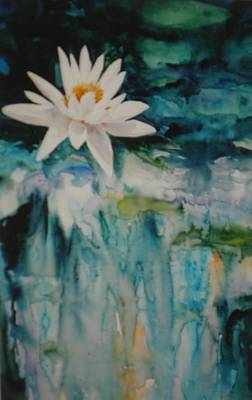 Painting - Lily Pond by Becky Taylor