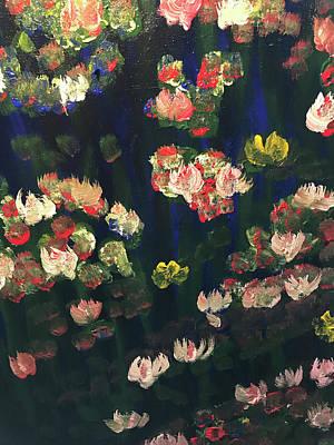 Painting - Lily Pond by Richard Dalton