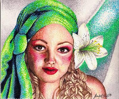 Lily Art Print by Scarlett Royal