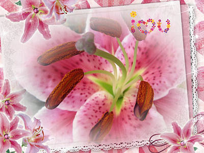 Clouds Royalty Free Images - Lily Royalty-Free Image by Vesna Martinjak