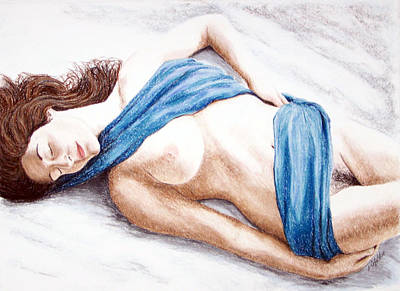 Painting - Lily-when Angels Sleep by Joseph Ogle