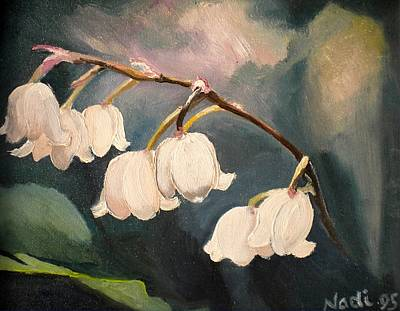 Lily Whites Art Print
