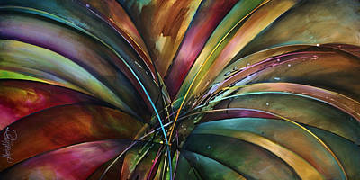 Michael Lang Painting - 'lily's Song' by Michael Lang