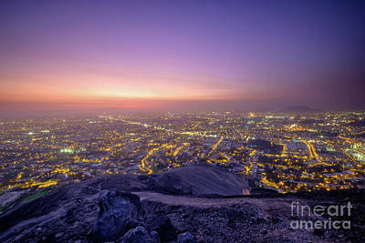 Photograph - Lima At Sunset. by Olivier Steiner