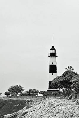 Photograph - Lima Lighthouse No. 7-1 by Sandy Taylor