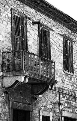 Photograph - Limassol Balcony by John Rizzuto