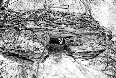 Landscape Photograph - Lime Kiln Bw 1 by Pittsburgh Photo Company