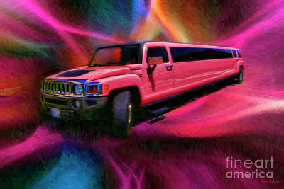 Photograph - Lime Lite Coach Works Limousine by Blake Richards