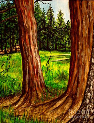 Painting - Lime Meadow by Elizabeth Robinette Tyndall