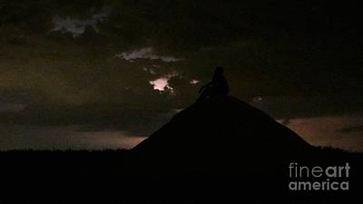 Photograph - Lime Pile Silhouette by Nightmare's Eye Photography
