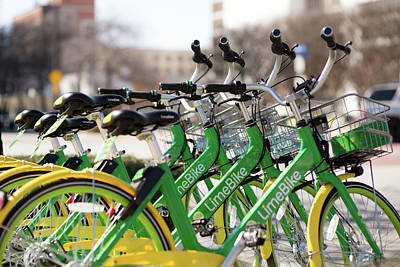 Photograph - Limebike Dallas by Rospotte Photography