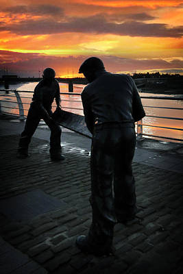 Best Seller Photograph - Limerick Dockers by Dominick Moloney