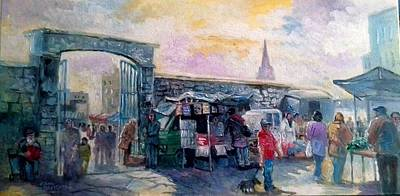 Painting - Limerick Old Market  by Paul Weerasekera