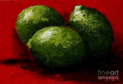 Photograph - Limes by Fred Wilson