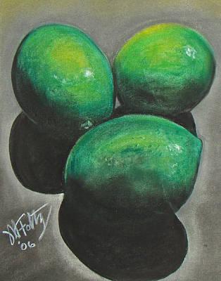 Pastel - Limes by Michael Foltz