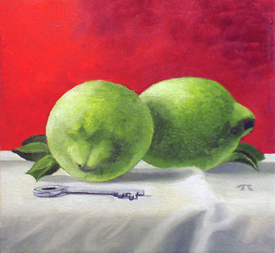 Painting - Limes by Tim Johnson
