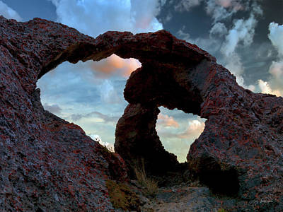 Photograph - Limestone Arches by Leland D Howard
