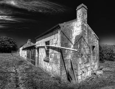 Photograph - Limestone Farmhouse by Wayne Sherriff
