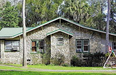 Photograph - Limestone Home by D Hackett