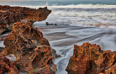 Photograph - Limestone Ocean by David A Lane