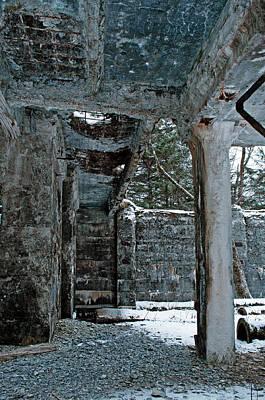 Photograph - Limestone Pillar - Cool by Cathy Mahnke