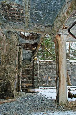 Photograph - Limestone Pillar - Warm by Cathy Mahnke