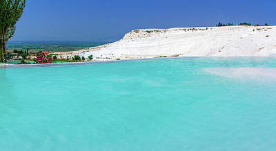 Photograph - Limestone Pool In Pamukkale by Sun Travels