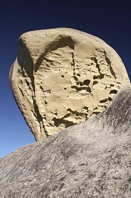 Limestone Rock Formation Art Print by Geoff Bryant