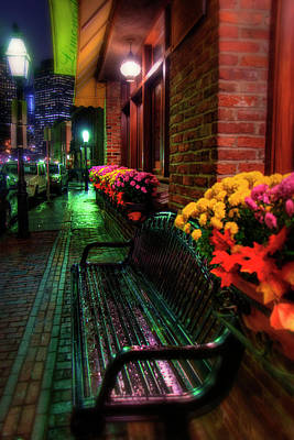 Photograph - Limoncello Ristorante - Boston North End by Joann Vitali