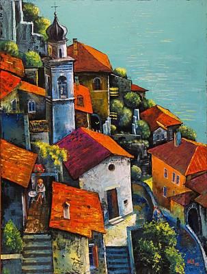 Painting - Limone Del Garda by Mikhail Zarovny