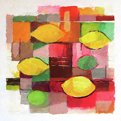 Painting - Limones by Lutz Baar