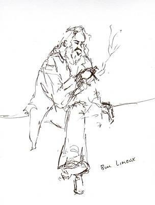 Limoux Bum Art Print by Diane Daigle