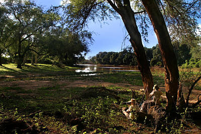 Photograph - Limpopo River Delta  by Joseph G Holland