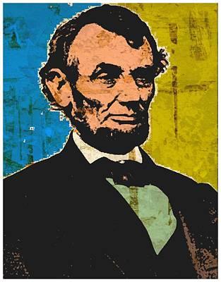 Republicans Mixed Media - Lincoln 6 by Otis Porritt