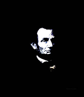 Us Flag Mixed Media - Lincoln Always With Us by Thomas Woolworth
