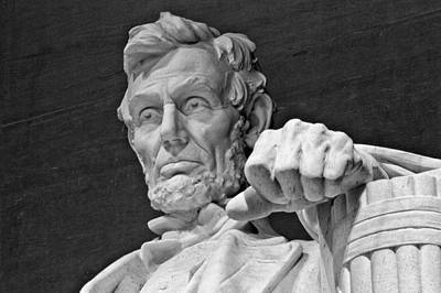 Lincoln Photograph - Lincoln And His Hand by Andres Leon