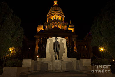 Photograph - Lincoln At The Capitol by David Bearden