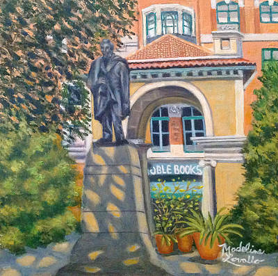 Painting - Lincoln At Union Square, N.y. by Madeline Lovallo
