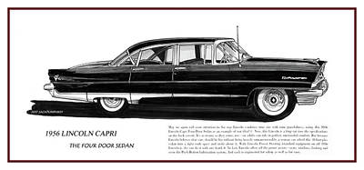 Lincoln Capri 1956 Original by Jack Pumphrey
