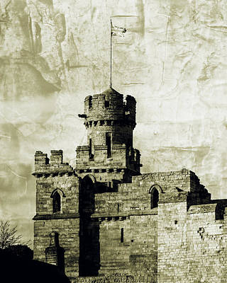 Photograph - Lincoln Castle Turret Fine Art, English Castle by Jacek Wojnarowski