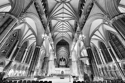 Lincoln Cathedral Bw Original