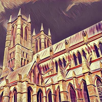 Scarborough Painting - Lincoln Cathedral by John Springfield