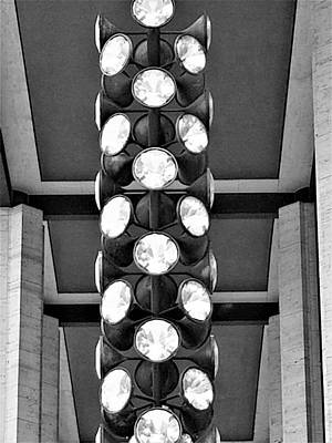 Photograph - Lincoln Center Abstract 1 by Rob Hans