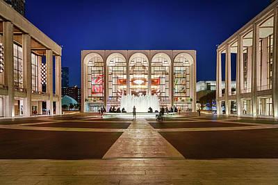 Lincoln Center At Night Art Print