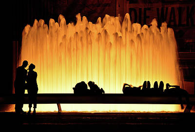 Photograph - Lincoln Center Fountain by David Cabana
