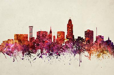 Lincoln Cityscape 09 Art Print