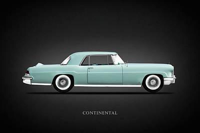 Lincoln Photograph - Lincoln Continental Mk2 1956 by Mark Rogan