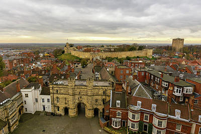 Photograph - Lincoln East View, England by Jacek Wojnarowski