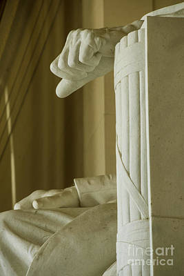 Photograph - Lincoln Hands by David Bearden
