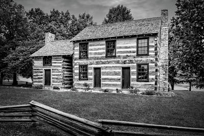 Photograph - Lincoln Heritage House Elizabethtown Kentucky  -  Lincabbw15 by Frank J Benz